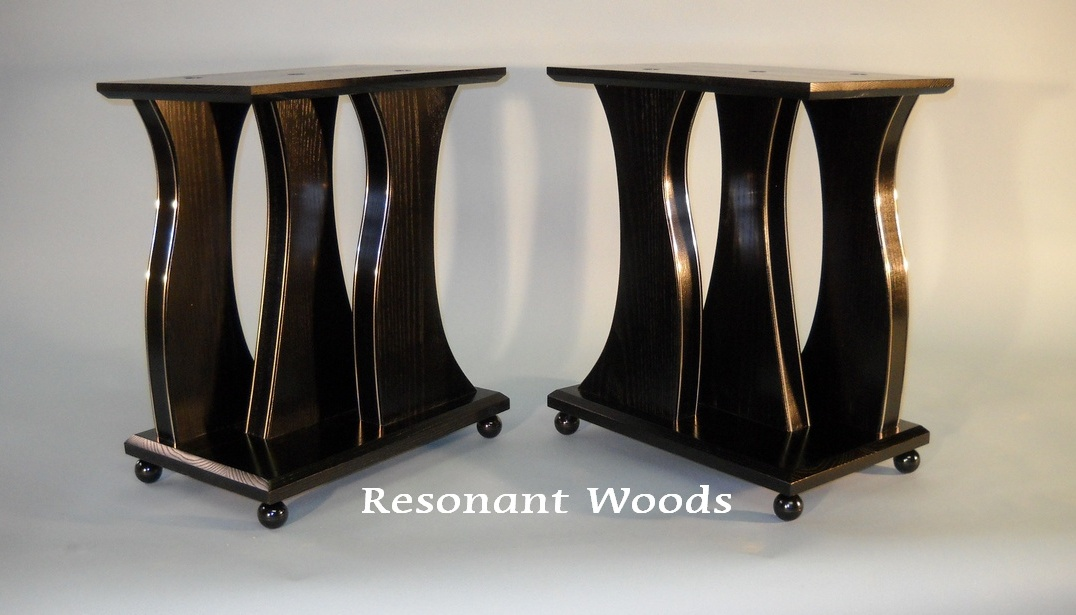 Resonant Woods speaker stands | Resonant Woods